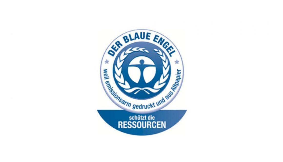 """Die DFS Druck Brecher GmbH erhält den """"Blauen Engel für Druckerzeugnisse"""""""