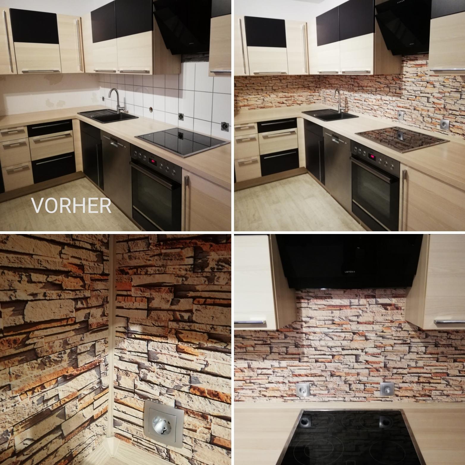 Küchenrückwand  / Küchenspiegel