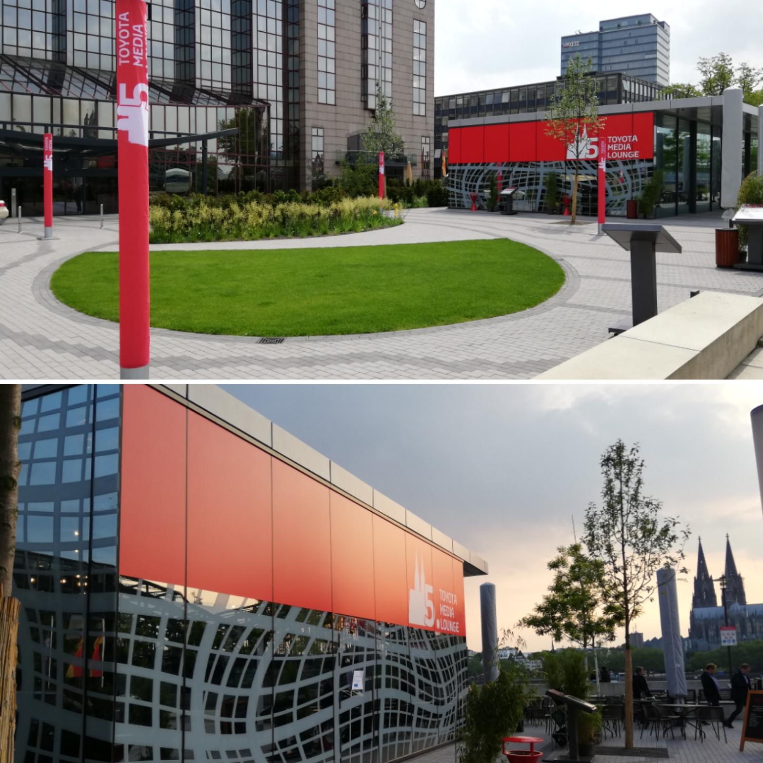 Gebäudefolierung / Folienplots / LED-Hussen